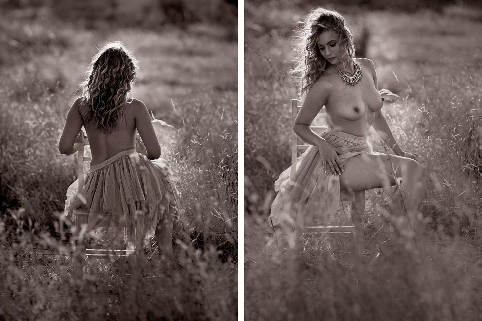 sesión de fotos boudoir en madrid