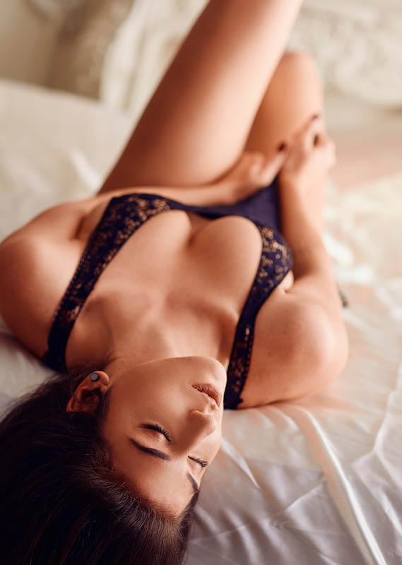 Sesión boudoir en pareja estudio madrid