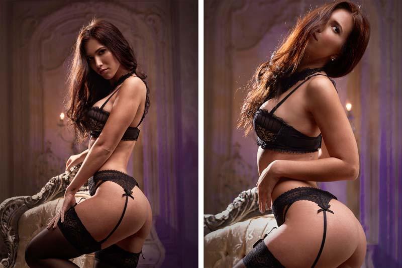 fotos boudoir modelos profesional