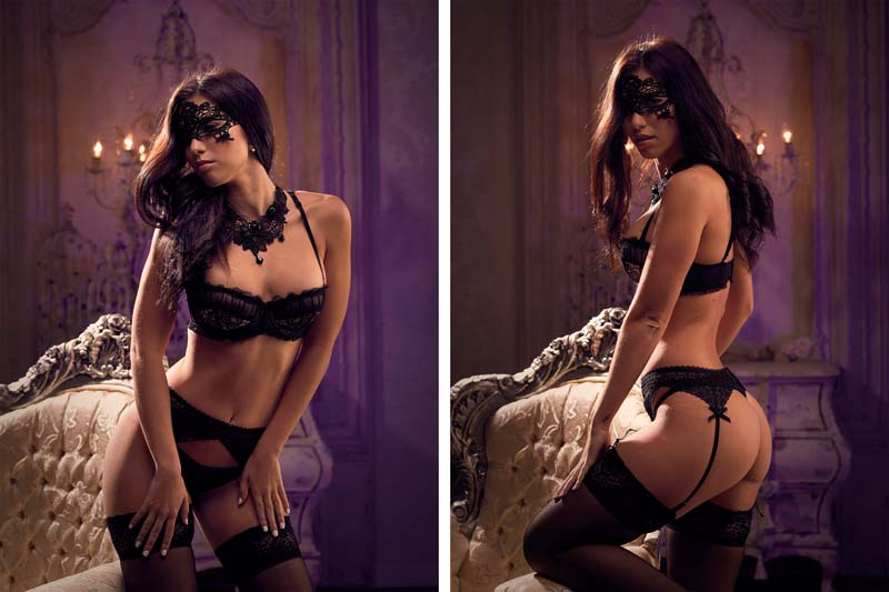 fotos boudoir para modelos madrid