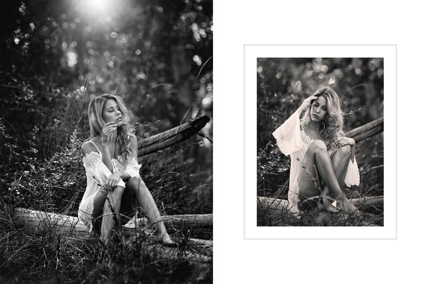 Book de fotos para modelos en exteriores madrid