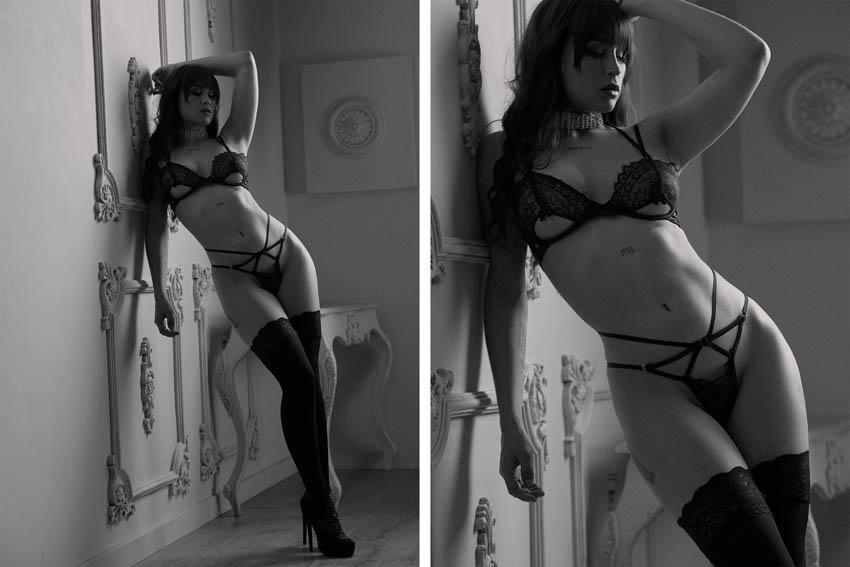 book de fotos sensuales profesionales en estudio