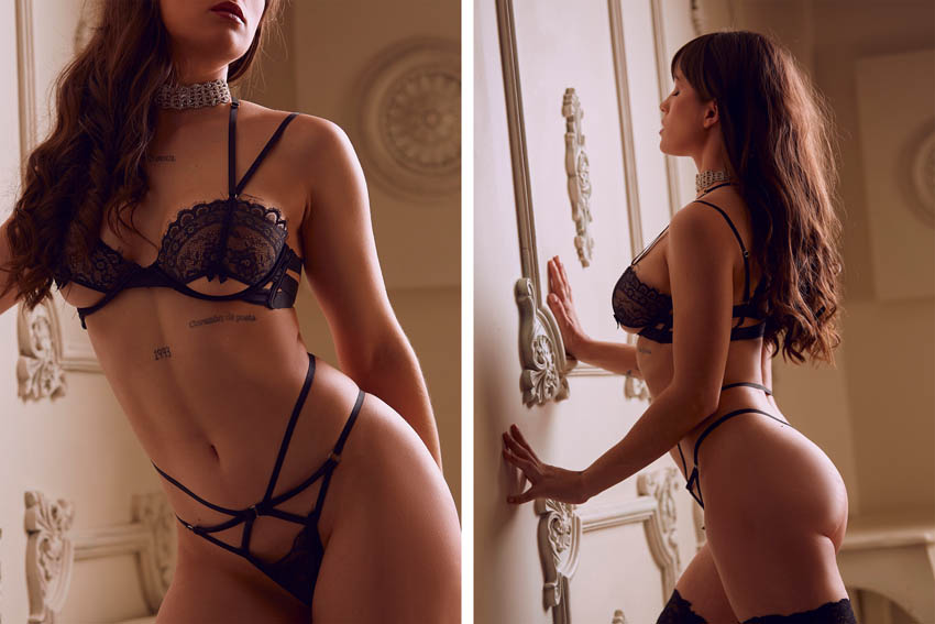 estudio profesional fotos boudoir en estudio de leganés madrid