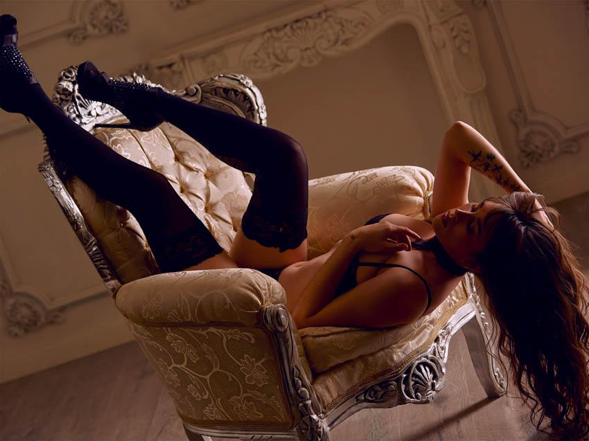 fotógrafo profesional fotos boudoir en estudio de leganés