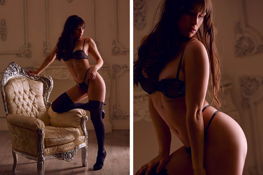 fotos boudoir profesionales en estudio de leganés madrid