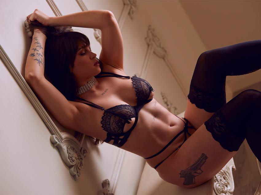 fotos sensuales profesionales en estudio