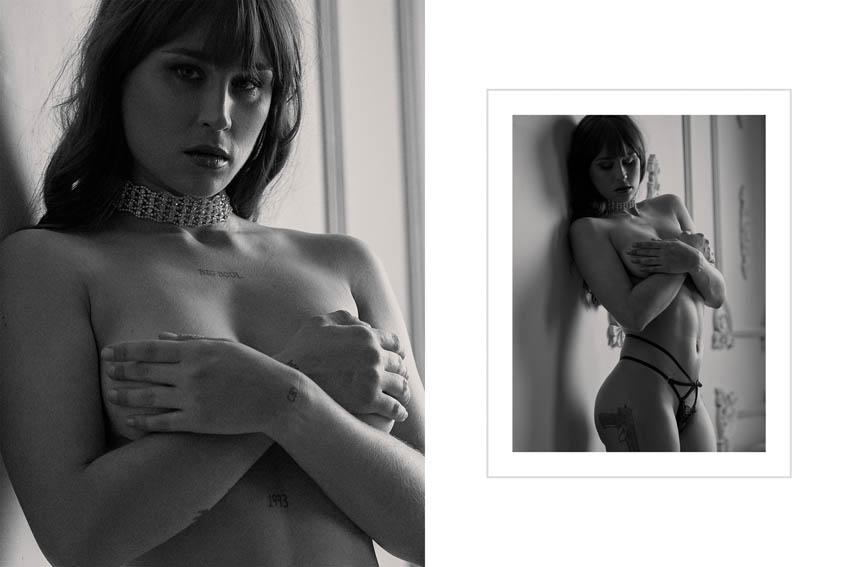 sesión de fotos desnudo sensual profesional en estudio de leganés