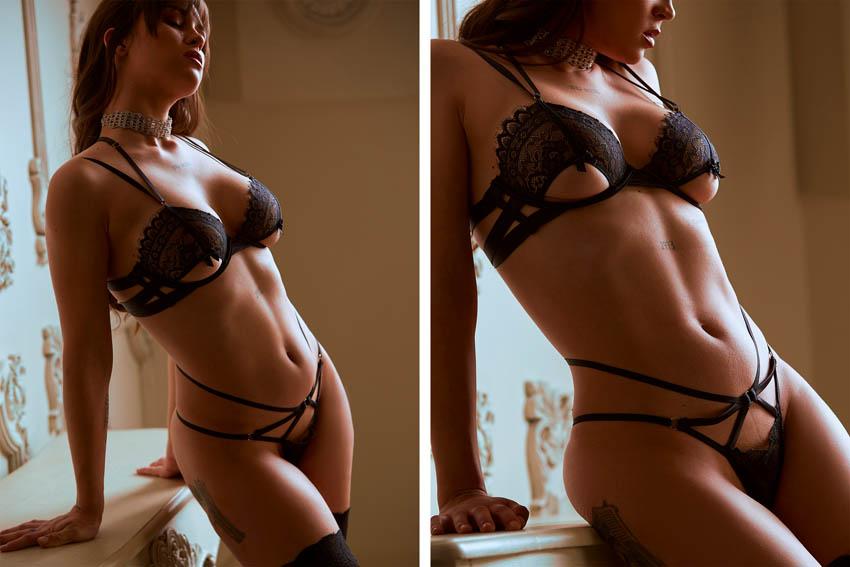 sesión de fotos sensuales profesionales