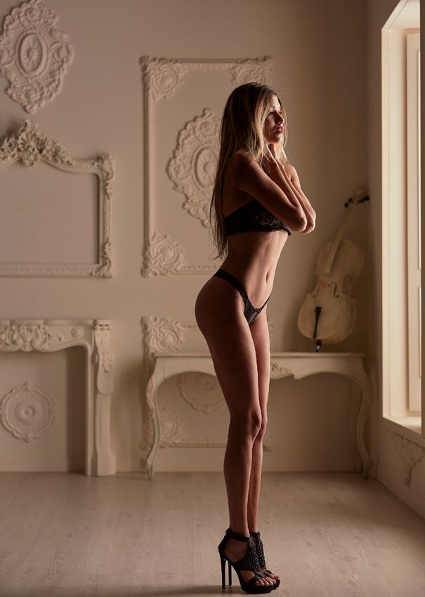Fotos de lencería para agencias de modelos profesionales en Madrid