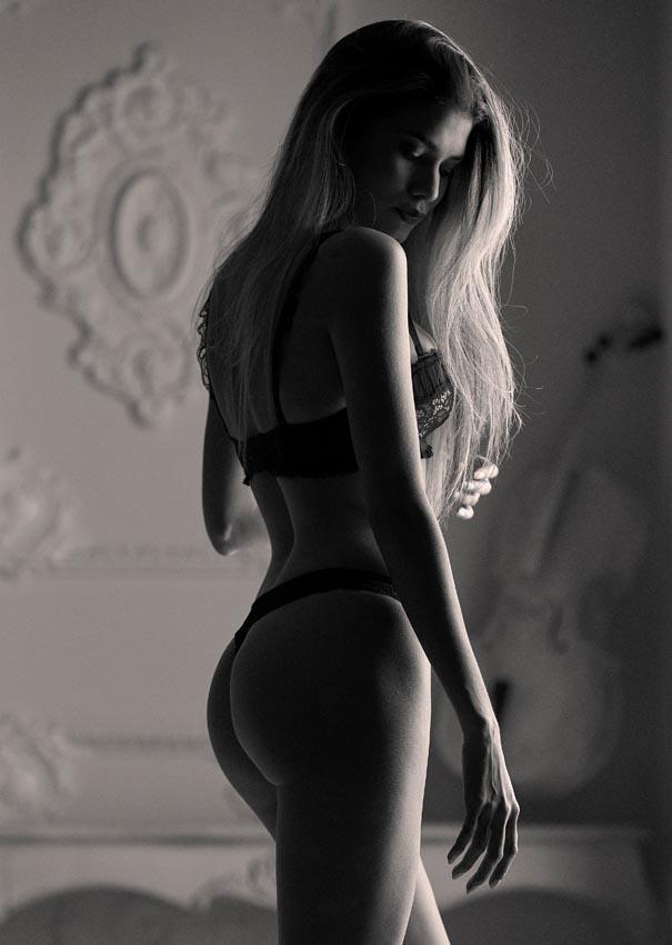 Fotos de lencería para agencias de modelos