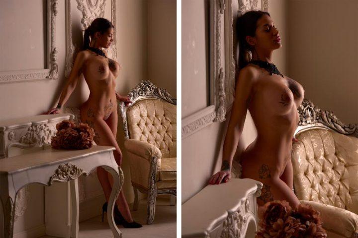 Book de fotos desnudo