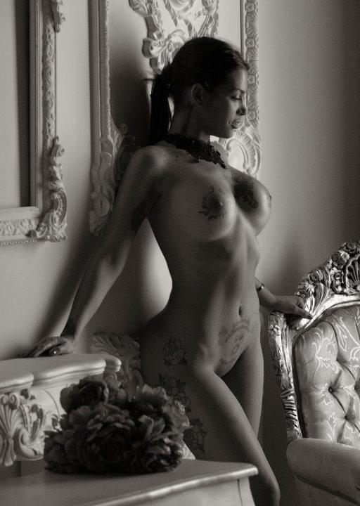 Book de fotos desnudo profesional