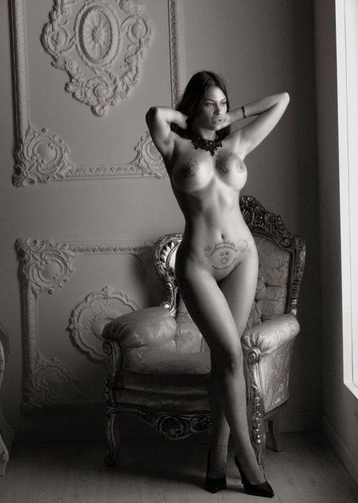 Estudio de fotos Boudoir desnuda profesionales