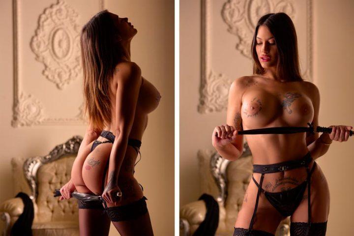 Estudio de fotos boudoir sensuales profesionales