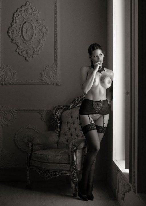 Fotógrafo de fotos boudoir sensuales