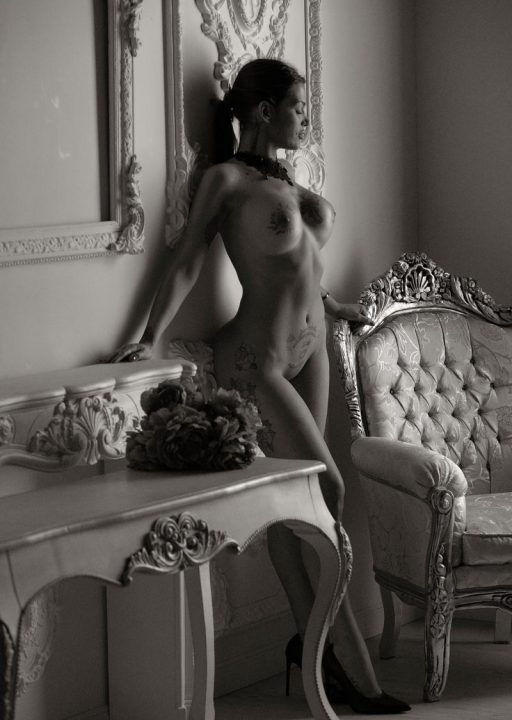Fotógrafo de fotos de desnudo